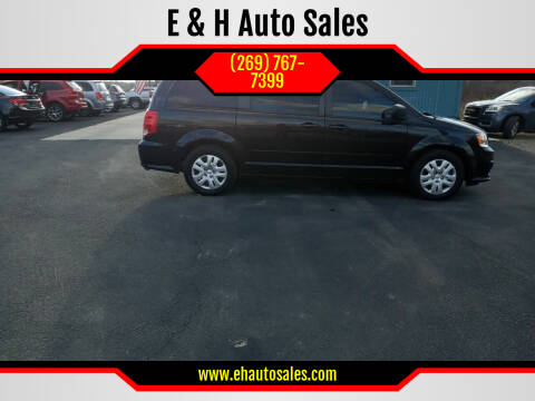 2017 Dodge Grand Caravan for sale at E & H Auto Sales in South Haven MI