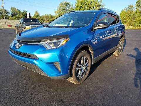 2016 Toyota RAV4 for sale at Cruisin' Auto Sales in Madison IN