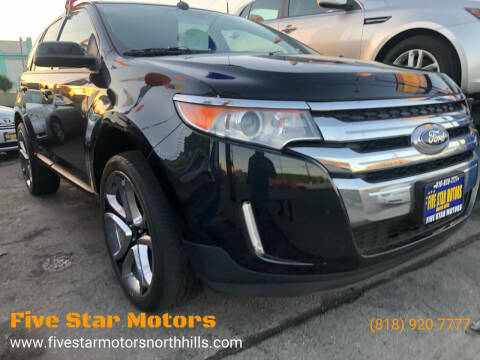 2013 Ford Edge for sale at Five Star Motors in North Hills CA