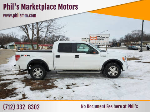 2010 Ford F-150 for sale at Phil's Marketplace Motors in Arnolds Park IA