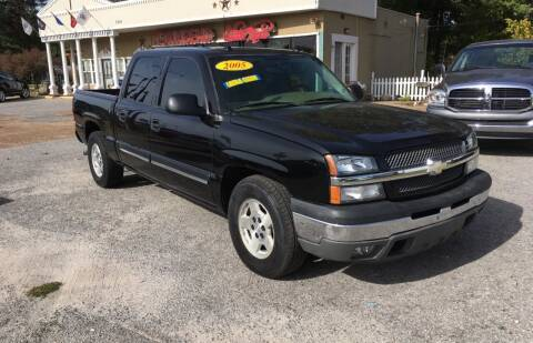 2005 Chevrolet Silverado 1500 for sale at Townsend Auto Mart in Millington TN