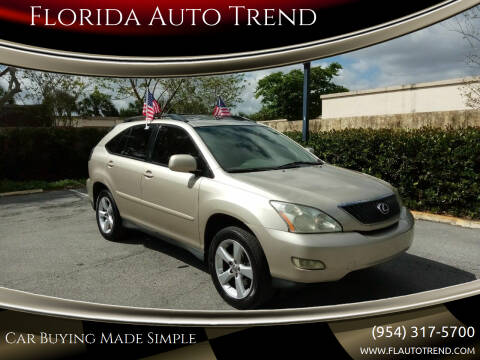 2007 Lexus RX 350 for sale at Florida Auto Trend in Plantation FL