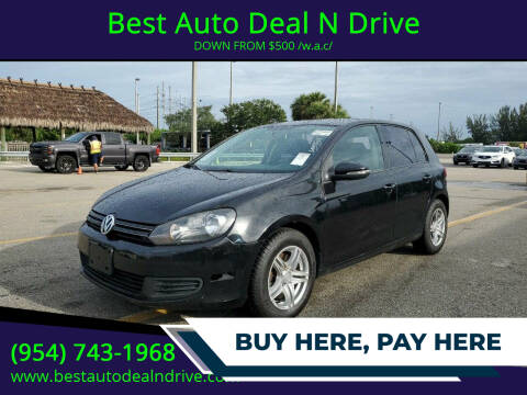 2012 Volkswagen Golf for sale at Best Auto Deal N Drive in Hollywood FL