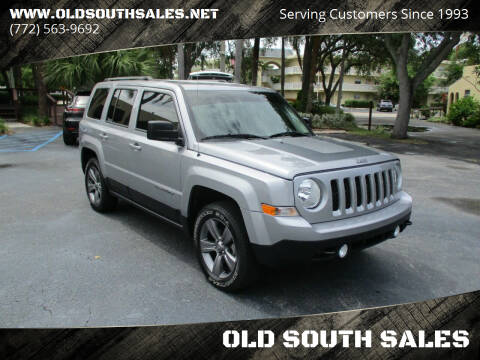 2016 Jeep Patriot for sale at OLD SOUTH SALES in Vero Beach FL