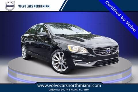 2017 Volvo S60 for sale at Volvo Cars North Miami in Miami FL