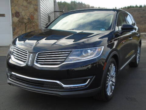2017 Lincoln MKX for sale at Rogos Auto Sales in Brockway PA
