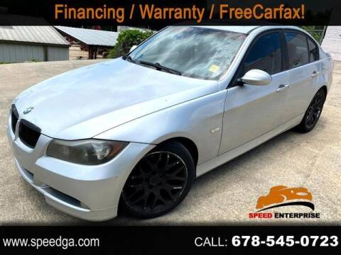 2006 BMW 3 Series for sale at JES Auto Sales LLC in Fairburn GA