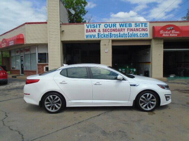 2015 Kia Optima for sale at Bickel Bros Auto Sales, Inc in Louisville KY