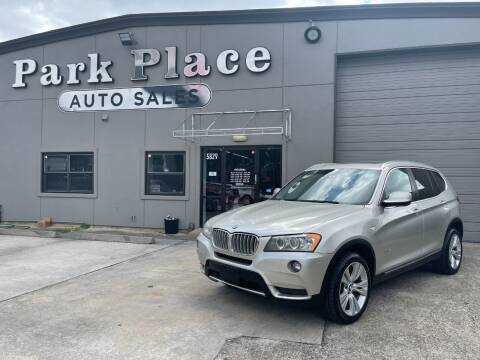 2011 BMW X3 for sale at PARK PLACE AUTO SALES in Houston TX