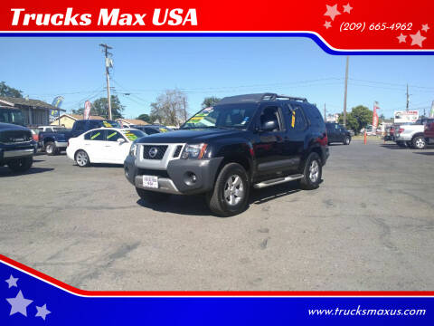 2012 Nissan Xterra for sale at Trucks Max USA in Manteca CA