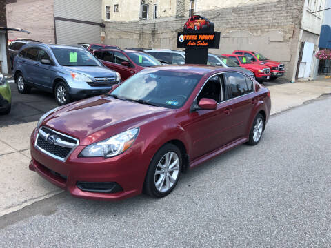 2013 Subaru Legacy for sale at STEEL TOWN PRE OWNED AUTO SALES in Weirton WV