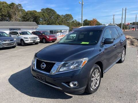 2014 Nissan Pathfinder for sale at U FIRST AUTO SALES LLC in East Wareham MA