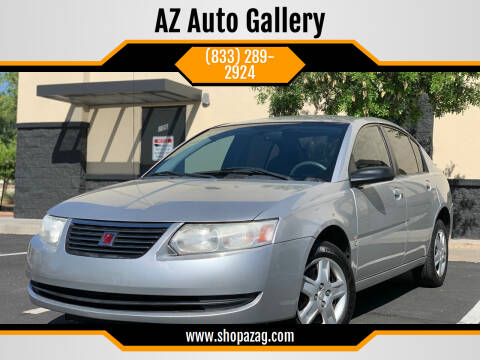 2007 Saturn Ion for sale at AZ Auto Gallery in Mesa AZ