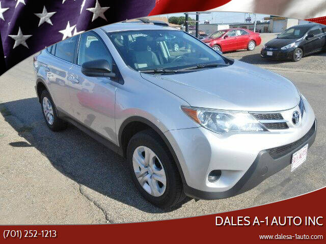 2013 Toyota RAV4 for sale at Dales A-1 Auto Inc in Jamestown ND