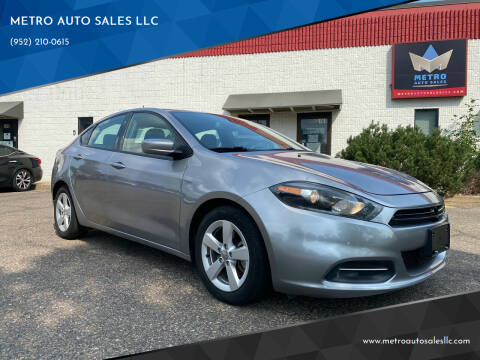 2016 Dodge Dart for sale at METRO AUTO SALES LLC in Blaine MN