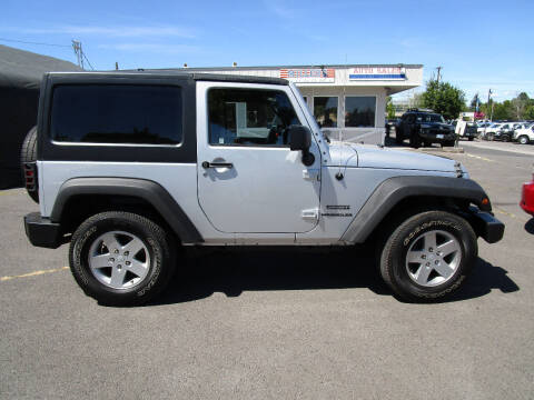 2011 Jeep Wrangler for sale at Miller's Economy Auto in Redmond OR
