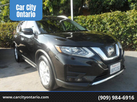 2017 Nissan Rogue for sale at Car City Ontario in Ontario CA