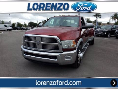 2012 RAM Ram Pickup 3500 for sale at Lorenzo Ford in Homestead FL