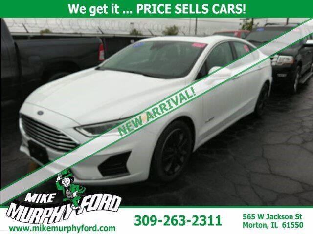 2019 Ford Fusion Hybrid for sale in Morton, IL