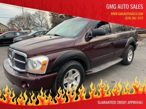2004 Dodge Durango for sale at GMG AUTO SALES in Scranton PA