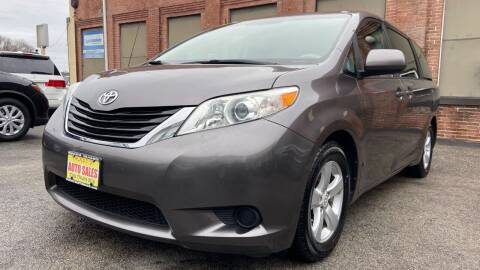 2011 Toyota Sienna for sale at Rocky's Auto Sales in Worcester MA