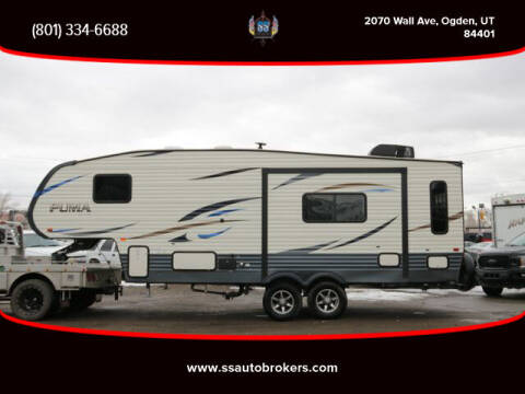2020 Palomino Puma Fifth Wheel for sale at S S Auto Brokers in Ogden UT