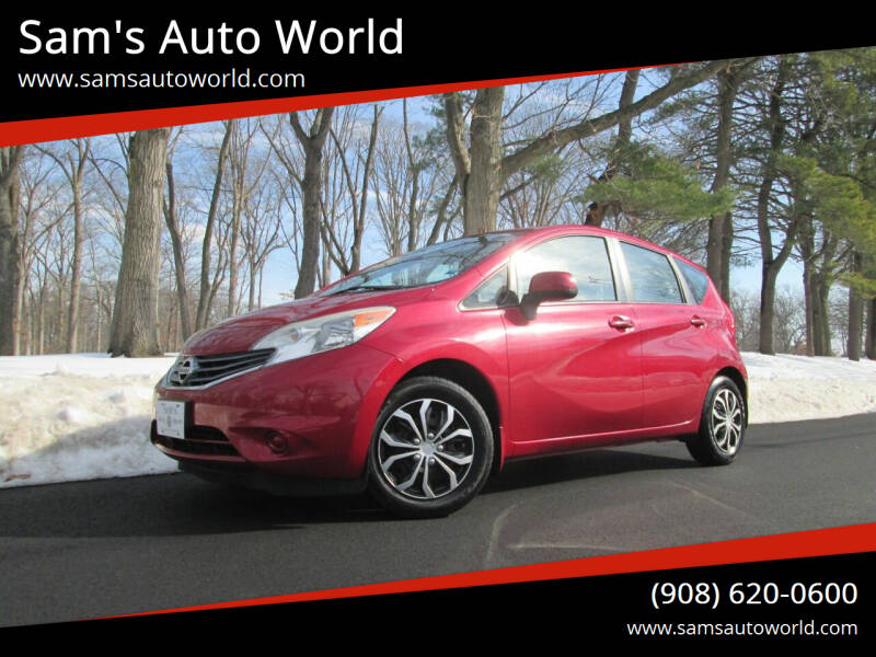 2014 Nissan Versa Note for sale at Sam's Auto World in Roselle NJ