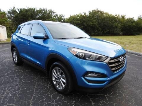 2016 Hyundai Tucson for sale at SUPER DEAL MOTORS 441 in Hollywood FL