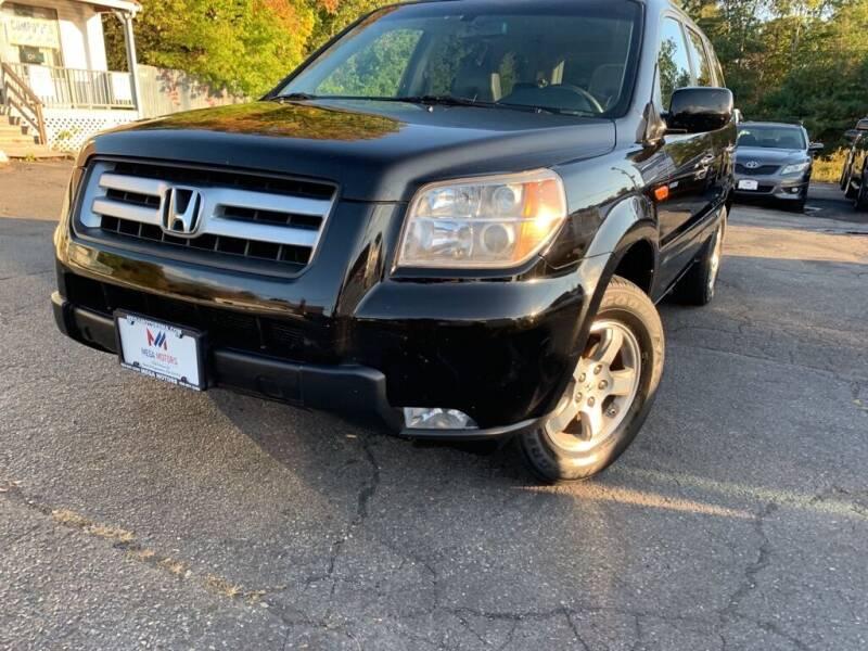 2008 Honda Pilot for sale at Mega Motors in West Bridgewater MA