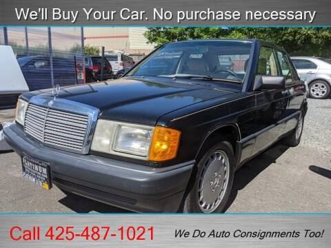 1990 Mercedes-Benz 190-Class for sale at Platinum Autos in Woodinville WA