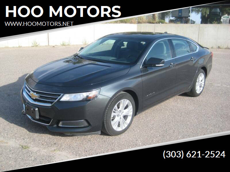 2014 Chevrolet Impala for sale at HOO MOTORS in Kiowa CO