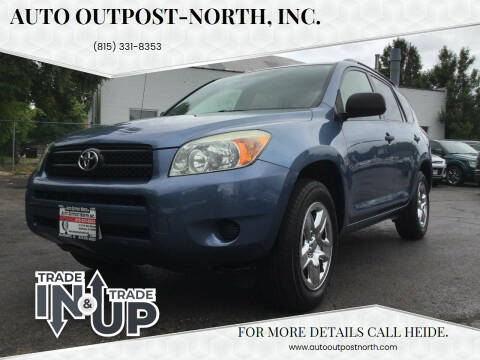 2008 Toyota RAV4 for sale at Auto Outpost-North, Inc. in McHenry IL