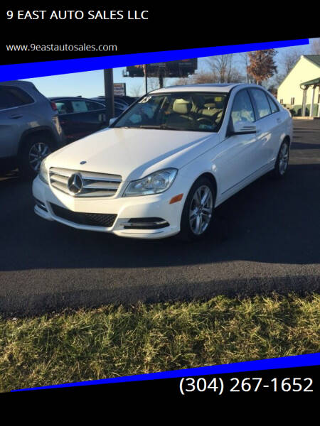 2013 Mercedes-Benz C-Class for sale at 9 EAST AUTO SALES LLC in Martinsburg WV
