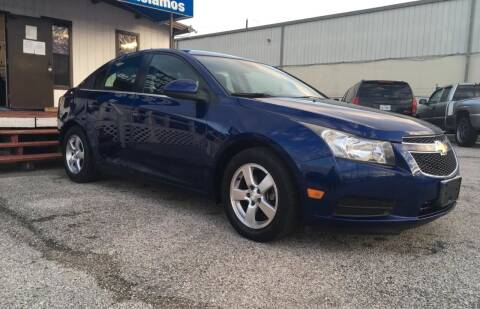 2013 Chevrolet Cruze for sale at P & A AUTO SALES in Houston TX