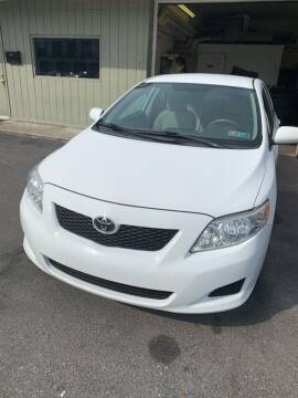 2010 Toyota Corolla for sale at Butler Auto in Easton PA