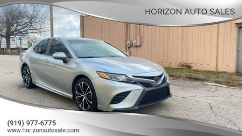 2018 Toyota Camry for sale at Horizon Auto Sales in Raleigh NC