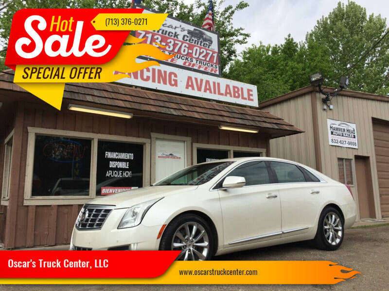 2013 Cadillac XTS for sale at Oscar's Truck Center, LLC in Houston TX