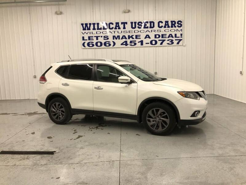 2016 Nissan Rogue for sale at Wildcat Used Cars in Somerset KY