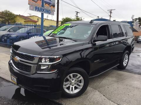 2016 Chevrolet Tahoe for sale at LA PLAYITA AUTO SALES INC in South Gate CA