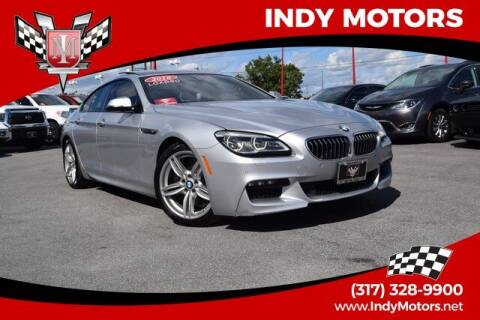 2016 BMW 6 Series for sale at Indy Motors Inc in Indianapolis IN