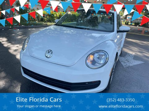2013 Volkswagen Beetle for sale at Elite Florida Cars in Tavares FL