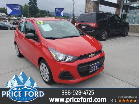 2017 Chevrolet Spark for sale at Price Ford Lincoln in Port Angeles WA