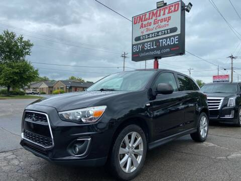 2014 Mitsubishi Outlander Sport for sale at Unlimited Auto Group in West Chester OH