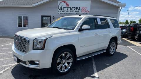 2015 GMC Yukon for sale at Action Motor Sales in Gaylord MI