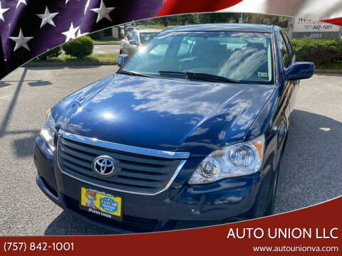 2008 Toyota Avalon for sale at Auto Union LLC in Virginia Beach VA