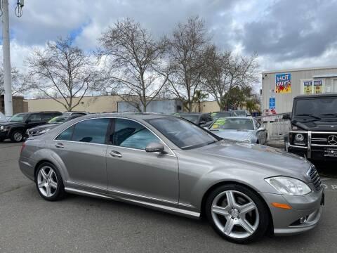 2008 Mercedes-Benz S-Class for sale at Black Diamond Auto Sales Inc. in Rancho Cordova CA