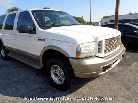 2003 Ford Excursion for sale at Gary Simmons Lease - Sales in Mckenzie TN