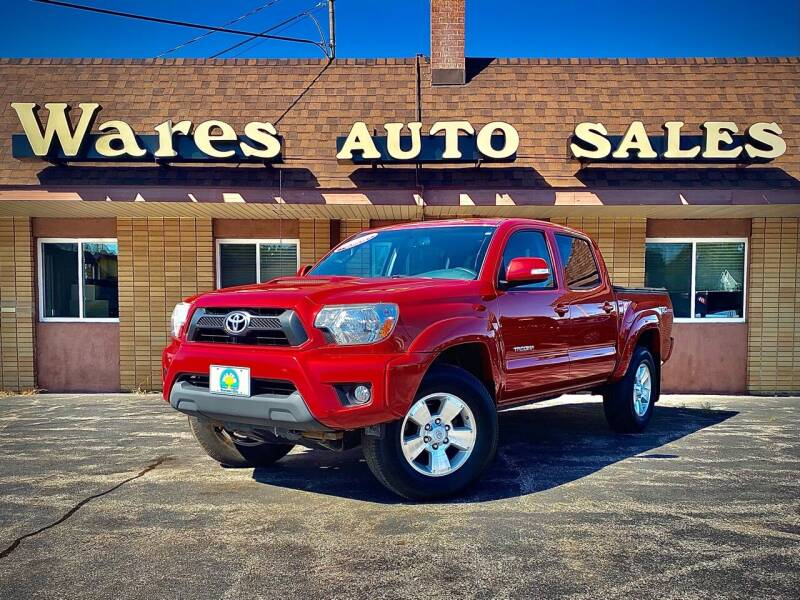 2014 Toyota Tacoma for sale at Wares Auto Sales INC in Traverse City MI