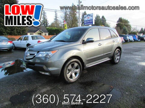 2007 Acura MDX for sale at Hall Motors LLC in Vancouver WA