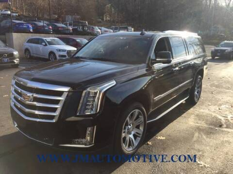 2017 Cadillac Escalade ESV for sale at J & M Automotive in Naugatuck CT